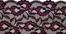 Lace Edges For Bra Making & Corset Making / A collection of beautiful stretch and rigid lace edges, in a wide variety of widths, colours, and styles. Perfect for bras, panties, and lingerie of all kinds.