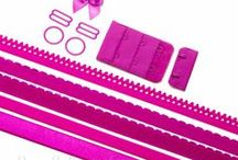 Bra Findings Kits / Our Bra Findings Kits make buying all of the findings such as elastics, sliders and rings, and underwire casings simple and easy. Just choose your colour and size and we do the rest!