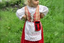 Traditional Finnish folk costume