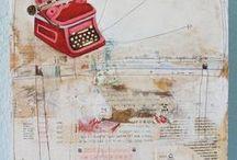 art journal/mixed media