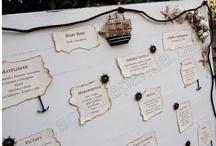 Table Plan - Sea theme
