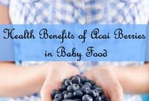 Fruits for babies / Benefits of fruits in your baby's diet