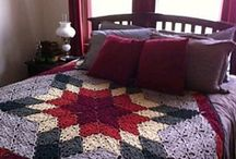 crochet to cozy up with / afghans, blankets, wraps, lapghans, etc. / by Che Anderson