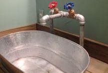 Hus Interiör badrum och tvättstuga