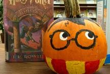 Halloween / Book Character Painted Pumpkins and Fun Library Games
