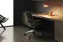 Interior Design: Workspace + Libraries / by Iliana Sava