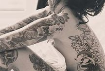 tattoed girl