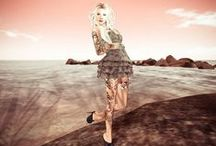 Secondlife fashion and beauty