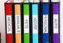 Ordning och reda / Organisationstips