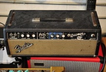 Guitar amps / by Thomas Whittle