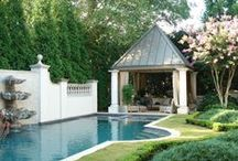 Outdoor Rooms|Spaces|Entertaining|Structures / by iheartnyc