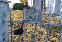 Halloween Cemeteries / There are a million ways to decorate for Halloween but my favorite is the Cemetery. Creepy, scary and oh so tempting to wander through. / by Bonni Lafferty