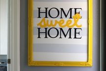 Sweet home and decor