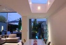 Kitchen roof lights / Velux versus large roof light...