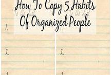 Decluttering - Organization