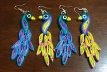 Quilling Jewellery DIY Videos / Learn how to make pretty paper quilled jewellery in these easy to follow step by step video tutorials