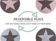 REVERSIBLE  CHILDREN'S RUGS | LORENA CANALS / For the modern family that can't make up their minds, our reversible rugs for kids are the perfect home decor answer.