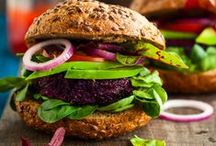 Veggie Burgers - YUM! / Burgers don't need meat patties all the time! Check out this board for delicicous vegetarian and vegan burger inspiration!