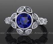 Sapphire Ring / Sapphire Ring