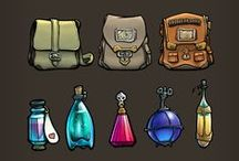 Adventure Gear and tools / mecanic, magic and imaginary objects