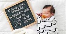 BIRTH ANNOUNCEMENTS / Creative birth announcements! Bijzondere geboortekaartideetjes!