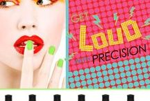 "Get Loud Collection / Précision's ""Get Loud"" Collection consists of 12 LOUD, BRIGHT, NEON shades in a neon semi-matte finish. Here are the colors that are included in the collection: Lime a Dozen (N01), Got an Idea? (N02), My Little Peony (N03), Kiss Kiss Tang Tang (N04), Pinka-delic (N05), Orange She Hot? (N06), I'm Berry Shocked (N07), Razzmatazz (N08), Vio-Let Me Rock (N09), Electric Daisy (N10), Girls Just Wanna Have Fun (N11), Twist N Shout (N12)."