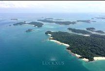 Luxury Living / Luxury Living, Luckxus - Golden Sand Residences, Isla Viveros Resort, Las Perlas Archipelago, Panama