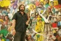 Matías Sánchez_Pure, severe, expressionist / Art
