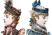 Victorian Hats / Pick your favorite style of Victorian hats, bonnets and caps. / by Victoriana Magazine