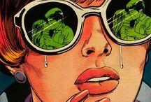 comic art / little bit sad..