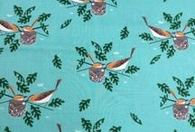COTTON FABRICS / Cotton fabrics with fabulous designs. For sale on www.fairytailors.be