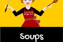Healthy Soup Recipes / Soups can be filling, nutritious and delicious.  They don't have to take a long time to make. These soup recipes are easy to make, nutritious to eat and a visual delight.
