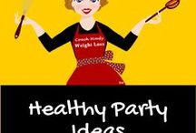 Healthy Party Ideas / Parties can be fun with healthy food options for your guests.