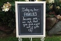 Chalkboard Rentals / Say it with Style ~ Just about ANYTHING you can write on!