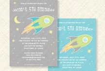 Outer Space Birthday Party