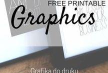 Graphics | Grafika / Free printables | Grafika do druku - za darmo