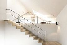 Stairs, handrails, banisters, railings, guardrail... / Contemporary design for stairs and stairs related / by Sequoia Living