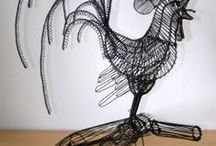 Wire sculpture / wire art