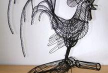 Wire sculpture / wire art