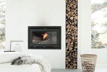 Fireplace - Takat ja tulisijat / Inspiraatioita takkojen ja tulisijojen suunnitteluun.