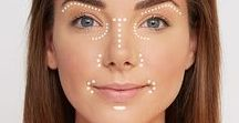 MAKE UP & SKINCARE / New makeup colors and trends. Foundations, lip, eye, products for a luscious look. Contouring techniques. How to contour to define your features. Smokey eye, lashes, new color pallets.
