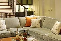 BASEMENT IDEAS / Fresh basement ideas, renovations, furniture, and decor.