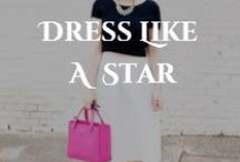 Dress like a Star / Our classes give you the tools to become a star. Here's some tips on how to DRESS like one too!! Remember, confidence is the number 1 key to fashion. OWN IT.  / by Open Call Model & Talent