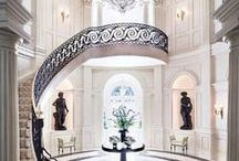 Staircases / Impressive home entrances and beautiful sweeping grand staircases