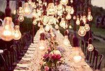 Light party / Inspiration for a garden party.