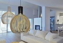 Interior - Scandinavian Design / Scandinavian interior design style, furniture and decorations
