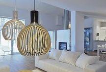 Interior - Scandinavian Design / Scandinavian interior design style, furniture and decorations