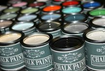 Vintro Luxury Paint.  Vintro Chalk Paint and Vintro Supreme Wall Paint.  Inspiration board. / Shabby chic, Vintage and antiques. Painted furniture. Painted walls.  Luxury paint.  Emulsion wall paint. Chalk paint.