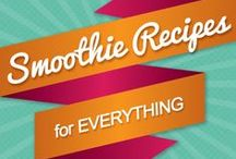 Healthy drinks / Smoothies, drinks, all fruits and veggies in a cup