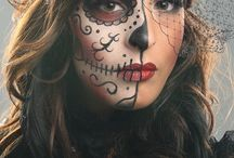 Halloween make up & custome